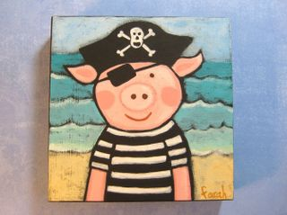 Pirate Piggie would you like to go to etsy?