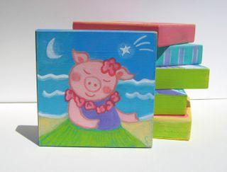 Hula Piggie