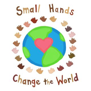 Small hands change the world by farah aria