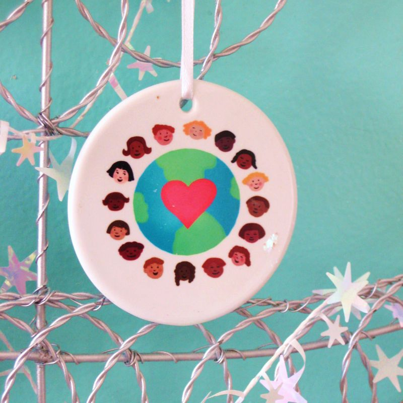 Children around the world - farah aria 2010 ornament 3