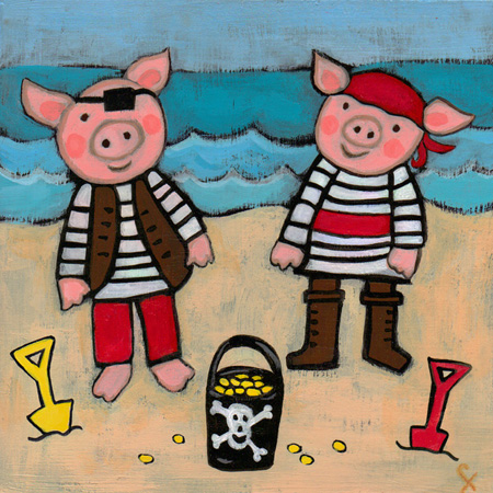 Pirate piggies faraharia